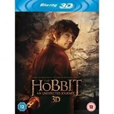 The Hobbit: An Unexpected Journey Blu-ray   New (Blu-ray  2013)