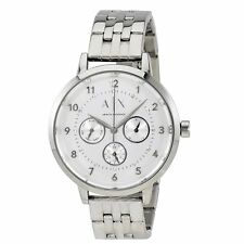Armani Exchange Dress Ladies Analog Watch Casual Silver AX5376
