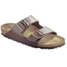 Birkenstock Arizona Sandals - Birko-Flor - Color Darkbrown