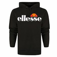 Ellesse Mens 'Bino' Logo Pullover Hoodie Jumper Hooded Sweater Hoody Top