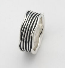 Women Fine Sterling Silver 925 Ring Band