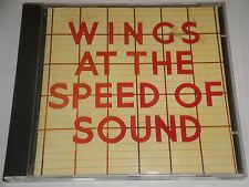 Wings - At THe Speed of Sound CD Album Paul McCartney includes 3 Bonus Tracks