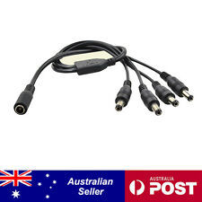 DC 12V 1 to 2/4/8 Splitter Power Adaptor Cable for CCTV Security Camera System