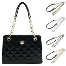 Metal+PU Leather Crossbody Shoulder Bag Chain Strap Handle Bag Chain Replacement