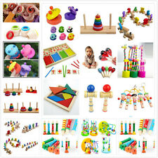 Baby Educational Kids Children Intellectual Developmental Wooden Toy Love Gift O