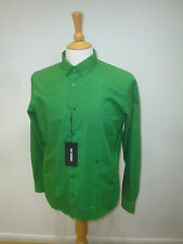 RAF SIMONS LUXURY COTTON SHIRT NEW WITH TAGS  GREEN £250