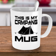 Camping Coffee Mug - This Is My Camping Mug | Cute Coffee Mug