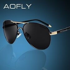 AOFLY Brand Men Sunglasses Fashion Cool Polarized Sports Men Sunglasses Male Dri