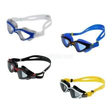 Adult UV Protection Silicone Swimming Goggles Anti-fog Swim Glasses + Mesh Bag
