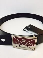 New Armani Exchange Mens A/X ABSTRACTED EAGLE BELT