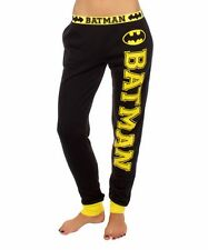 Batman Symbol Offcially Licensed DC Comics Jogger Lounge Pants S-3XL