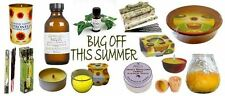 Outdoor Citronella Candles Keep Bugs at Bay 7 Varieties FREE P&P