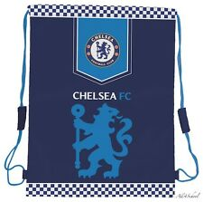 NEW CHELSEA FC LONDON GYM SHOE BAG FOR KIDS CHILDREN BOYS FOR SCHOOL NURSERY