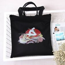 NEW Japanese design 40cm Large canvas Tote shopping bag shoulder FREE SHIPPING