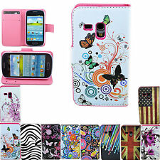 Flip Wallet Leather Card Pouch Cover Case For Samsung Galaxy S3 III Mini i8190