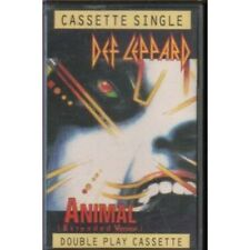 DEF LEPPARD Animal CASSETTE UK Bludgeon Riffola 1987 3 Track Extended Version