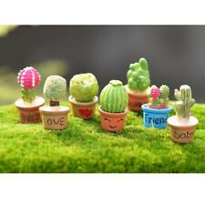 Miniature Fairy Garden Micro Landscape Dollhouse Figurine Decor DIY Bonsai Plant