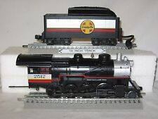 MTH 30-4119E Santa Fe 2-8-0 Die-Cast Steam Engine/Tndr w/ Loco-Sound wks/ Lionel