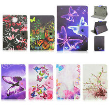 Butterfly Leather Cover Case For Lark Universal Tablet cases 7 inch Android PC