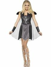 Adult Sexy Fever Dark Warrior Princess Ladies Fancy Dress Costume Party Outfit
