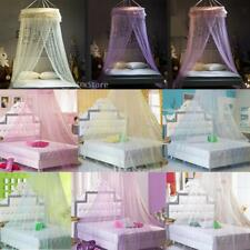 Lace Bed Mosquito Netting Mesh Canopy Round Dome Princess Bedding Net Bed Decor