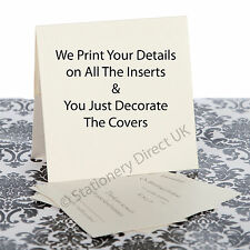 Pocketfold Personalised Wedding Invitations - We Print Your Details - Sample