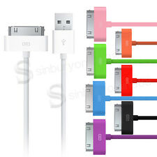UK 1M LONG LEAD USB DATA SYNC CHARGE CABLE for iPhone 4 4S 3G 3GS iPod Touch