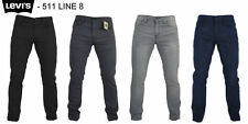 LEVI'S JEANS - LEVI'S 511 SLIM FIT DENIM JEANS - LINE 8 - VARIOUS COLOURS - BNWT