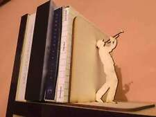 Anti-skid Bookends, CD holder, DVD holder, Shelf Book Case Holder Home