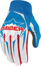 Icon Raiden Mens Glory/Red/White/Blue Textile Arakis Sport Motorcycle Gloves