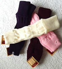 Vintage 1980s ankle warmers ARISTOC soft knitted acrylic leg warmers ONE SIZE