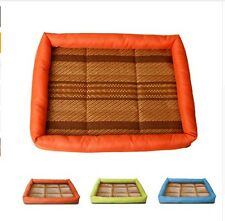 Cool Pet Bed Mat Dog Cat Puppy Relax Blanket House Small Medium Large Summer Fre