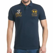 La Martina Polo Shirt Blue T-shirt Size: S