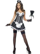 SALE! Adult Sexy Fever French Maid Ladies Fancy Dress Hen Party Costume Outfit