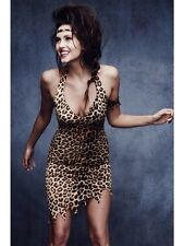 SALE! Adult Sexy Fever Cave Woman Ladies Fancy Dress Hen Party Costume Outfit