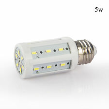 2x LED Corn Light Bulb SMD E27 E26 15W 12W 10W 8W 5W Power White Lamp DC 12V