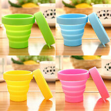 Portable Silicone Retractable Folding Cup Telescopic Collapsible Travel