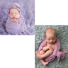 Newborn Small Ball Mini  Vintage Style Wrap Cloth Photography Props New Blanket