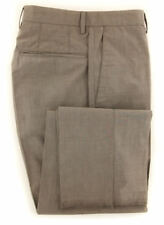New $375 Incotex Light Brown Solid Pants - Slim - (IN5289425)