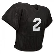 New Champro FJ2 Poly Mesh Waist Length Football Youth Adult Practice Jersey Blac