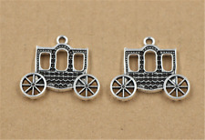 5/15/60pcs Tibet Silver  Retro carriage Jewelery Charms Pendant DIY 30x27mm