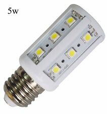 8x LED Corn Light Bulb SMD E27 E26 15W 12W 10W 8W 5W Power White Lamp DC 12V