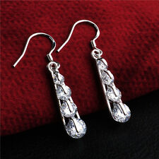 Crystal Rhinestones Drop Pendantes Dangling New Delicate 1Pcs Christmas Earrings