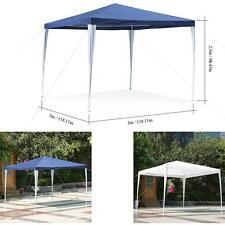 iKayaa Outdoor Canopy Gazebo Party Wedding Camping Tent Marquee Sun-shading D2W4