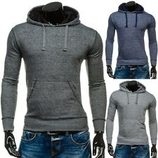 BOLF Men's Hooded Pullover Sweatshirt Pullover Hoodie Hooded Jumper 1A1 Classic