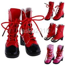 1/3 BJD Lace up High Heels Boots for MID SD Dollfie EID LUTS AOD DOD Dolls