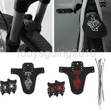 Lightweight Road Mountain Bike Flexible Mudguards Set Bicycle Front Rear Fenders