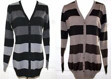 NWT Enzo Mantovani Extra Fine Merino Wool Cardigan Sweater VNeck Striped Variety