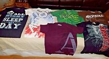 Lot of 6 AEROPOSTALE Graphic Style MIXED T-shirts mens XS