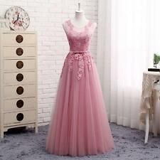 New Womens Long Evening Formal Party Cocktail Dress Bridesmaid Prom Ball Gown SZ